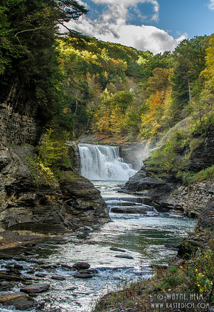 Waterfall in Color   Photography by Wayne Heim