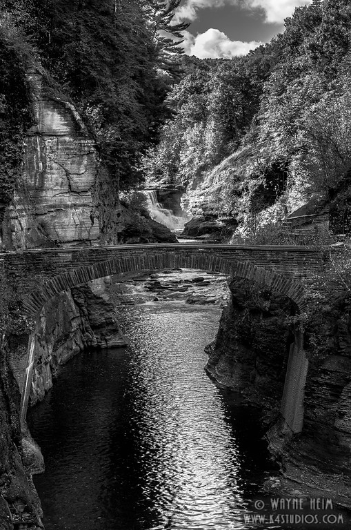 B & W Bridge  Photography by Wayne Heim