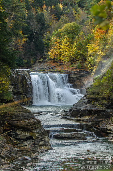 Fall in Letchworth  Photography by Wayne Heim