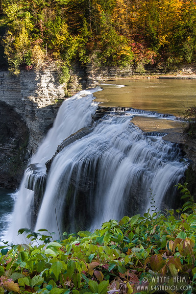 Letchworth Falls   Photography by Wayne Heim