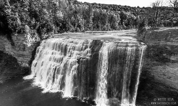 Flowing Falls    Photography by Wayne HEim