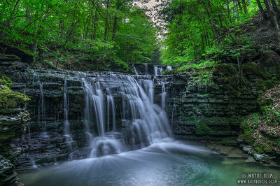 Glen Waterfall  Photography by Wayne Heim