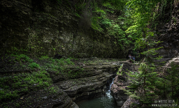 Canyon Walk  Photography by Wayne Heim