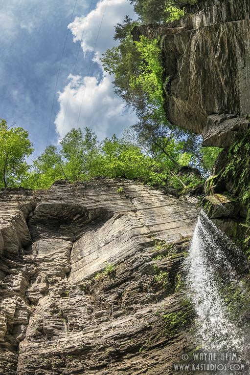 Below the Falls  Photography by Wayne Heim