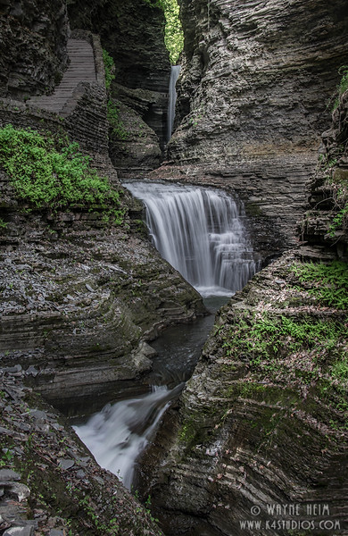 Ravine Waterfalls   Photography by Wayne Heim