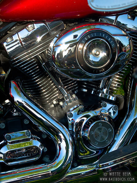 All Chrome    Photography by Wayne Heim