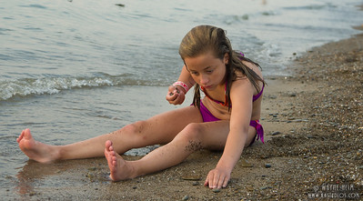 Looking for Rocks     Photography by Wayne Heim