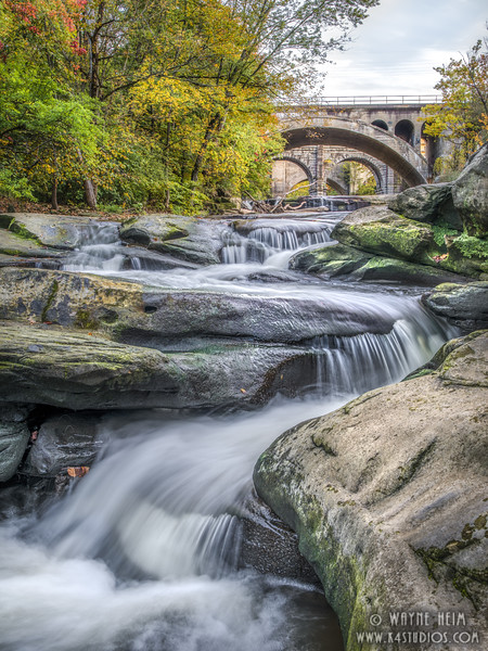 Rushing Berea Falls    Photography by Wayne Heim