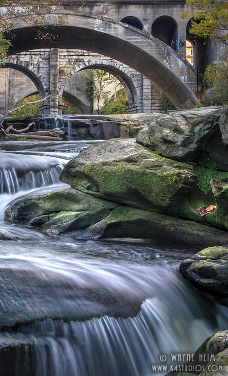 Falls before the Bridge   Photography by Wayne Heim