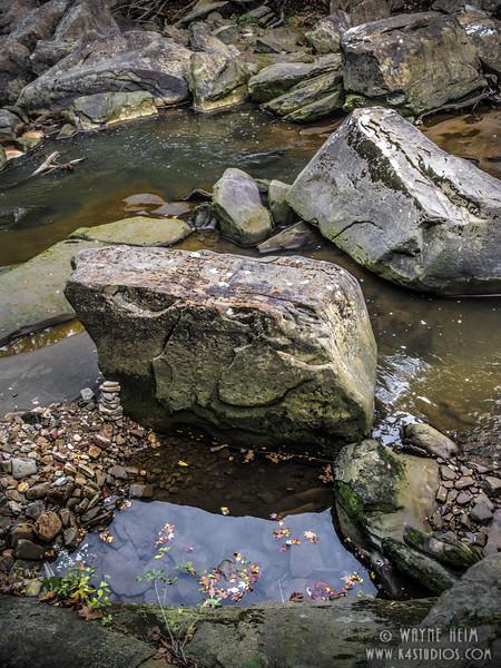 River Boulders   Photography by Wayne Heim
