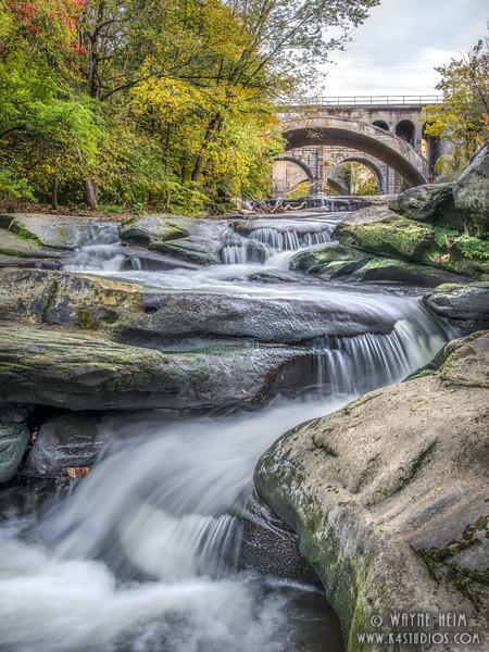Rushing Berea Falls    Photography by Wayne Heim