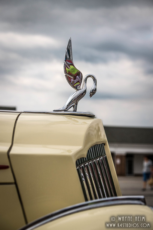 Hood Ornament    Photography by Wayne Heim
