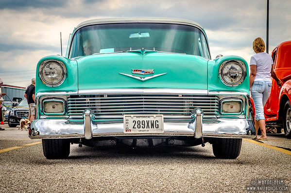 Bright Chevy    Photography by Wayne Heim