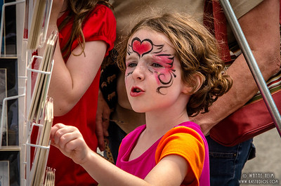 Face Paint Photography by Wayne Heim