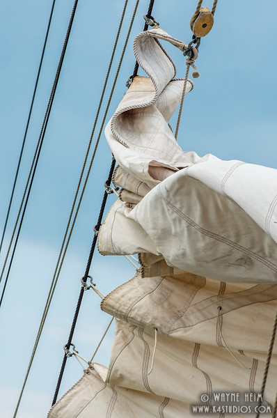 Dropping Sail   Photography by Wayne Heiml