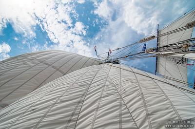 Billowing  Sails   Photography by Wayne Heim