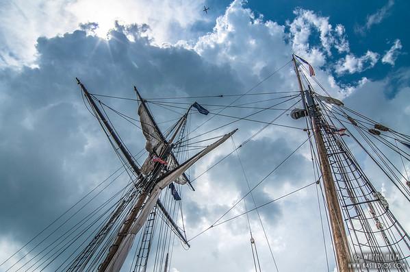 Twin Masts   Photography by Wayne Heim