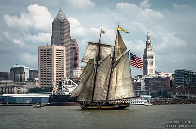 Lynx in Harbor   Photography by Wayne Heim