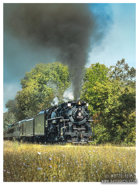 Cuyahoga  Steam Train    Photography by Wayne Heim