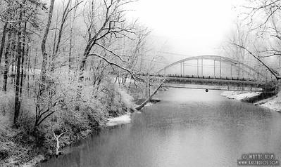 Snowy Day - Black & White Photography by Wayne Heim