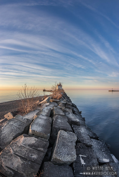 Approach to Lighthouse(V)    Photography by Wayne Heim
