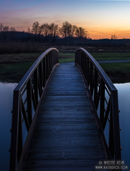 Bridge to Twilight  Photography by Wayne Heim