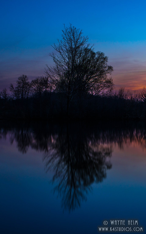 Reflections at Sunset    Photography by Wayne Heim