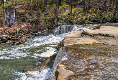 Top of Dueling Falls   Photography by Wayne Heim