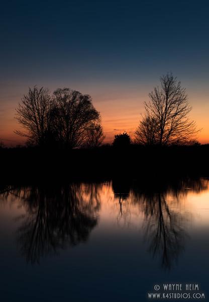 Night Reflections     Photography by Wayne Heim