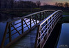 Twilight Bridge   Photography by Wayne Heim
