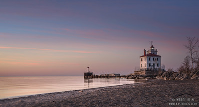 Lighthouse From the Beach    Photography by Wayne Heim