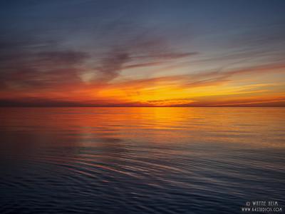 Sun Going Down   Photography by Wayne Heim