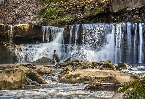 Layered Falls    Photography by Wayne Heim