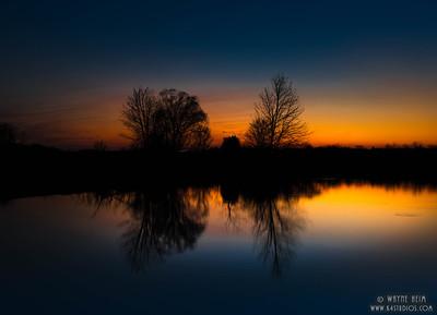 Sunset Reflections - Photography by Wayne Heim