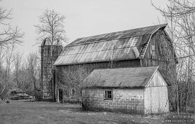 Ye Olde Barn     Black and White Photography by Wayne Heim
