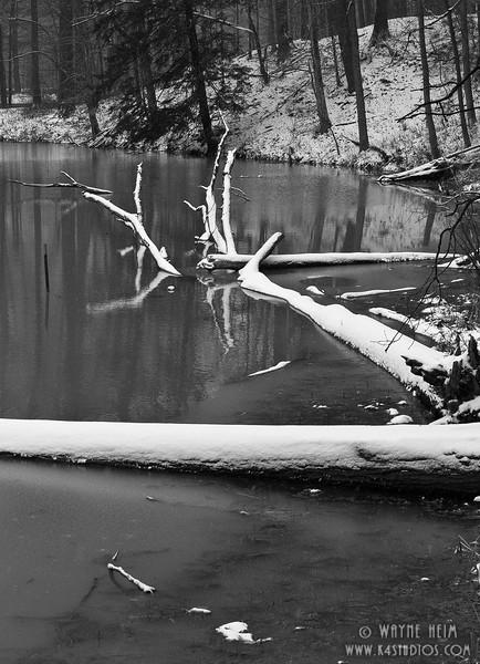 Winter Calm -  Photography by Wayne Meim