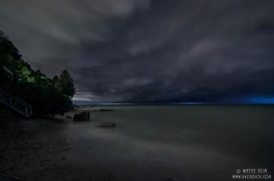 Lake Storm  Photography by Wayne