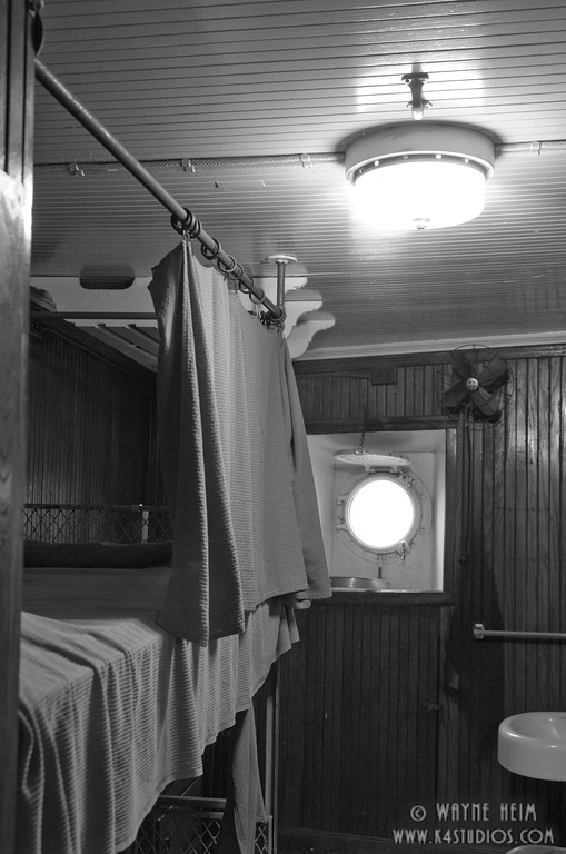 Mather Bunks -- Black & White Photography by Wayne Heim