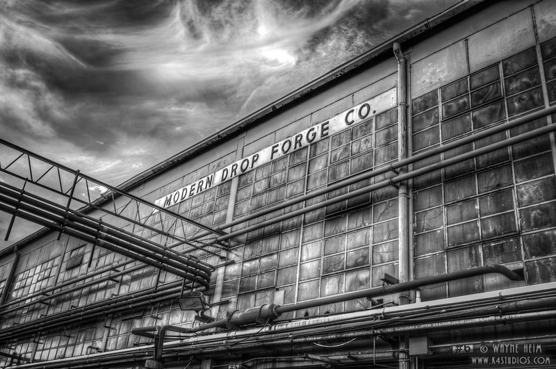 Forge Co -- Black & White Photography by Wayne Heim