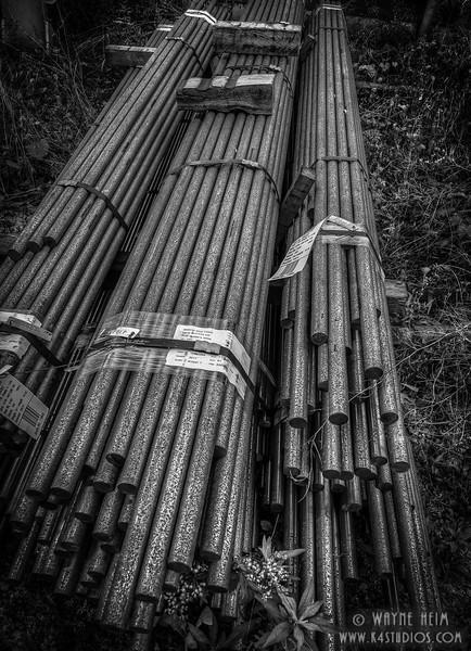 Bar Stock - Black & white Photography by Wayne Heim