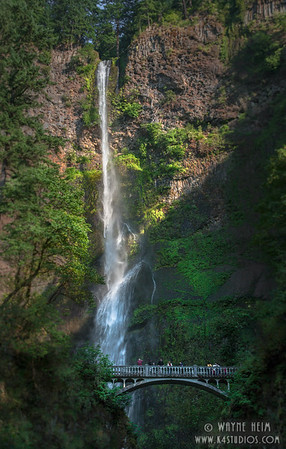 Tall Falls    Photography by Wayne Heim