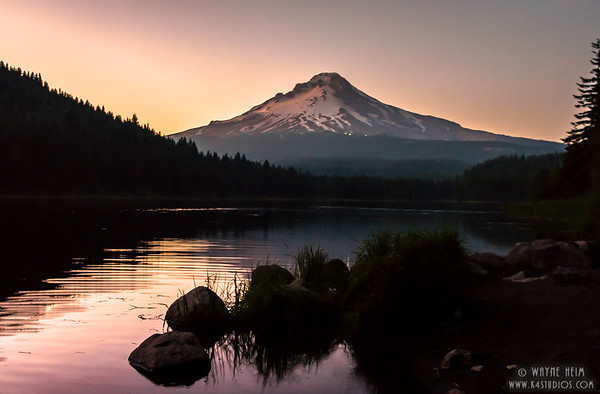 Hood at Sunset   Photography by Wayne Heim