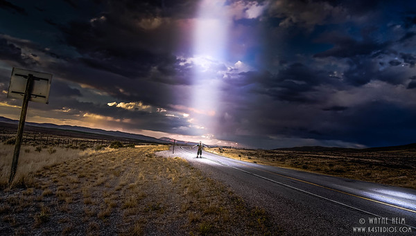 Beam Me Up      Photography by Wayne Heim