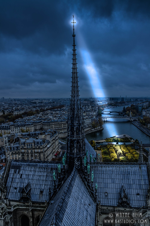 Light from Above    Photography by Wayne Heim