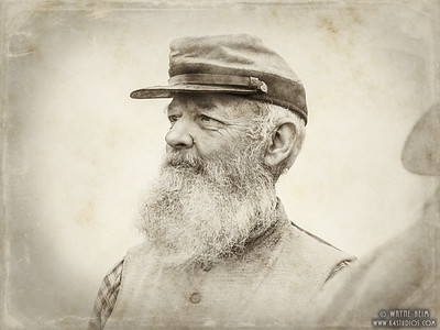 Civil War Soldier    Photography by Wayne Heim