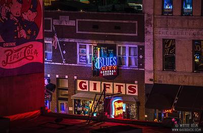 Memphis Blues - Photography by Wayne Heim