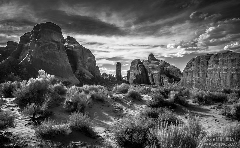 Three Peaks. Photography by Wayne Heim