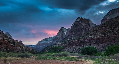 Sunset Approach    Photography by Wayne Heim
