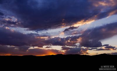 Angry Sunset . Photography by Wayne Heim