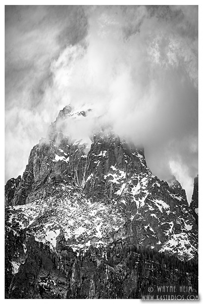 The Grand    Black and White Photography by Wayne Heim
